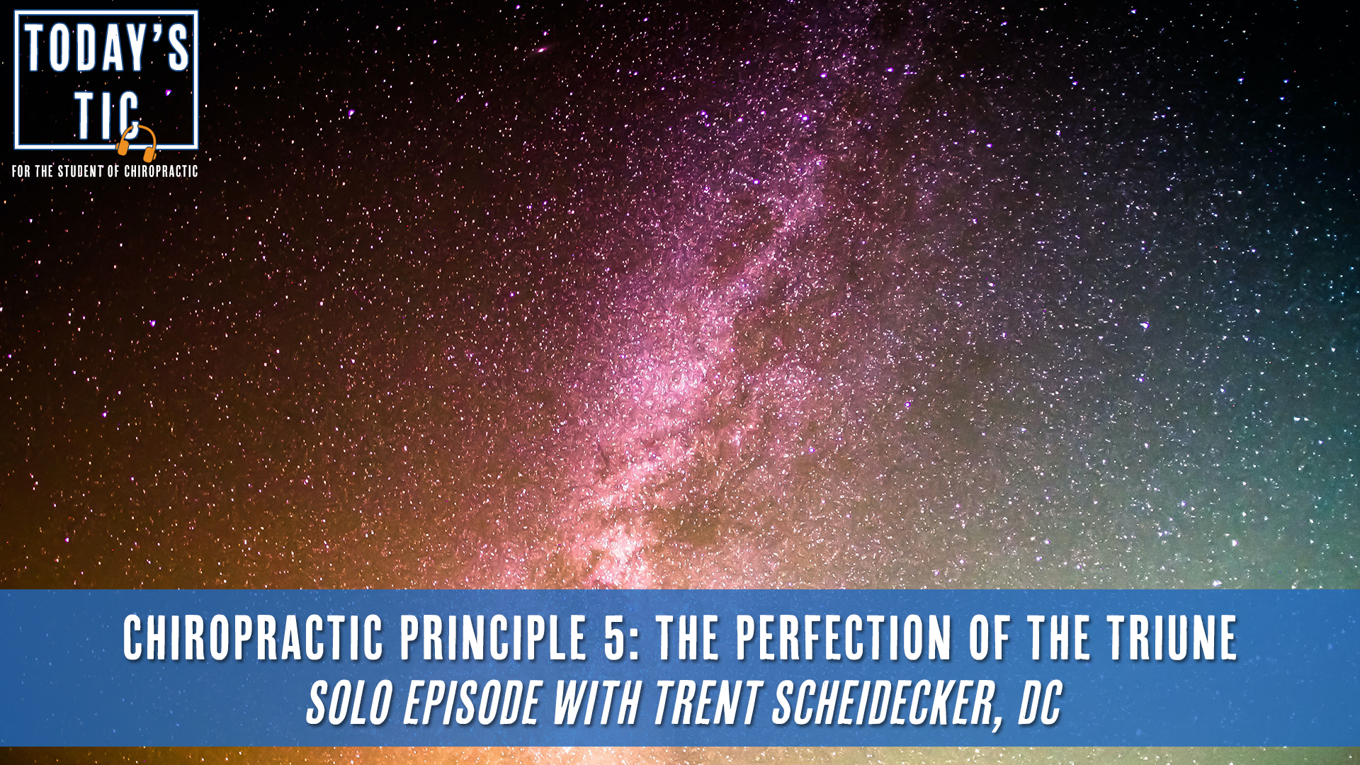 Chiropractic Principle 5 - The Perfection of the Triune