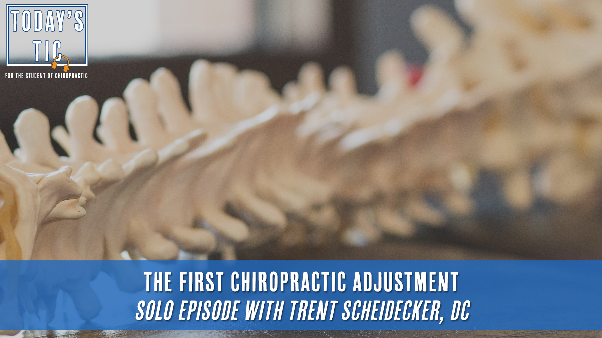 The First Chiropractic Adjustment