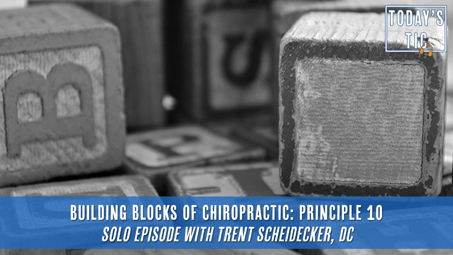 Chiropractic Principle 10